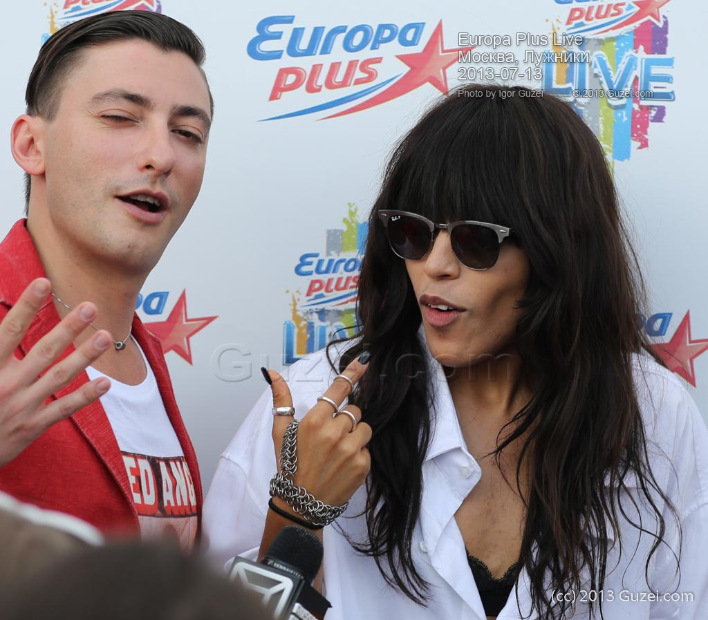 Джем и Loreen - Europa Plus Live 2013 (Москва, Лужники) 2013-07-13 17:55:12